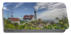Portable Battery Charger featuring the photograph Portland Headlight by Jane Luxton
