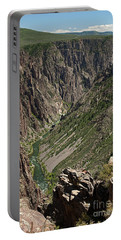 Pulpit Rock Overlook Black Canyon Of The Gunnison Portable Battery Charger