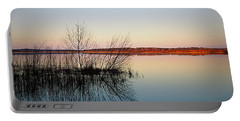 Reflections On Lake Jackson Tallahassee Portable Battery Charger