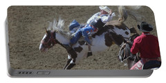 Ride Em Cowboy Portable Battery Charger by Jeff Swan