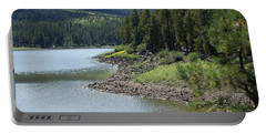 River Reservoir Portable Battery Charger by Pamela Walrath