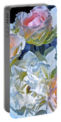 Rose 59 Portable Battery Charger by Pamela Cooper