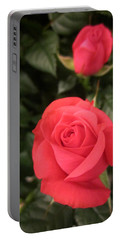 Roses In Red Portable Battery Charger