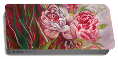 Roses Roses Portable Battery Charger