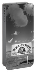 Route 66 - Midpoint Sign Portable Battery Charger