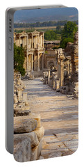 Ruins Of Ephesus Portable Battery Charger