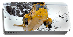 Seaking Helicopter Portable Battery Charger by Paul Fearn