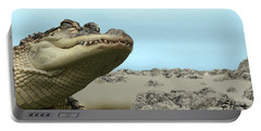 See You Later Alligator Portable Battery Charger by Ellen Henneke