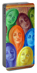 Serene Sisters Portable Battery Charger by Sylvia Kula