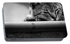 Portable Battery Charger featuring the photograph Sleeping by Laura Melis