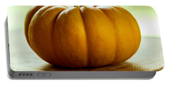 Small Orange Pumpkin Portable Battery Charger