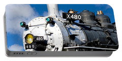 Smiling Locomotive Portable Battery Charger