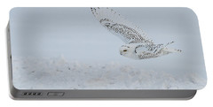 Portable Battery Charger featuring the photograph Snowy Owl #2/3 by Patti Deters