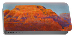 South Rim Sunset Portable Battery Charger by Margaret Bobb