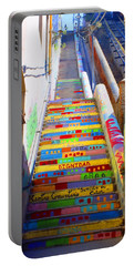 Stairway To Heaven Valparaiso  Chile Portable Battery Charger