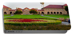 Stanford University Campus, Palo Alto Portable Battery Charger by Panoramic Images
