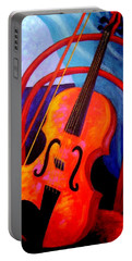 Still Life With Violin Portable Battery Charger