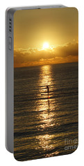 Portable Battery Charger featuring the photograph Sunrise In Florida Riviera by Rafael Salazar