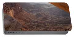 Sunrise Mesa Arch Canyonlands National Park Portable Battery Charger