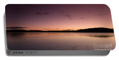 Sunrise On Lake Lanier Portable Battery Charger