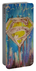 Kal-el Paintings Portable Battery Chargers