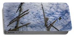 Tall Ship Mast Portable Battery Charger by Dale Powell