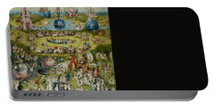 The Garden Of Earthly Delights Portable Battery Charger by Hieronymus Bosch