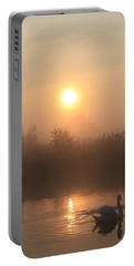 Portable Battery Charger featuring the photograph The Peace Of Dawn by Linsey Williams