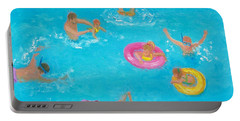 The Swimmers Portable Battery Charger