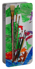 The Young Artists Canvas Portable Battery Charger