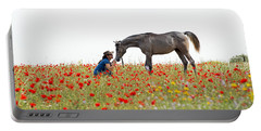 Three At The Poppies' Field... 4 Portable Battery Charger