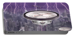 Time Travelers Portable Battery Charger by Mike McGlothlen