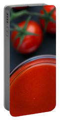 Tomato Juice Portable Battery Charger