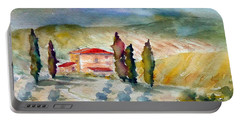 Tuscan Landscape Portable Battery Charger