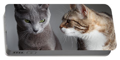 Two Cats Portable Battery Charger