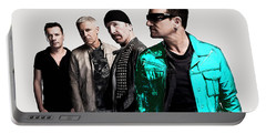 U2 Portable Battery Charger by Marvin Blaine
