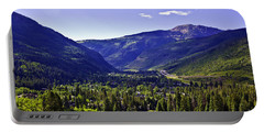 Vail Valley View Portable Battery Charger