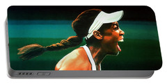 Venus Williams Portable Battery Charger by Paul Meijering