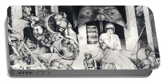Vindobona Altarpiece IIi - Snakes And Ladders Portable Battery Charger