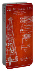 Vintage Oil Drilling Rig Patent From 1916 Portable Battery Charger