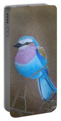Violet-breasted Roller Bird Portable Battery Charger