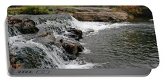 Spring Creek Waterfall Portable Battery Charger
