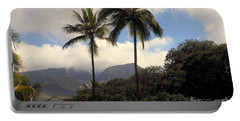 West Maui Mountains Portable Battery Charger by Fred Wilson