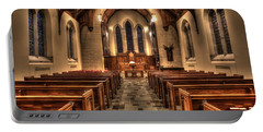 Westminster Presbyterian Church Portable Battery Charger by Amanda Stadther