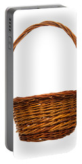 Wicker Basket Number Twelve Portable Battery Charger