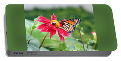 Portable Battery Charger featuring the photograph Working Together by Karen Silvestri