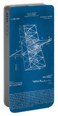 Wright Brothers Flying Machine Patent Portable Battery Charger