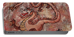 Year Of The Dragon Portable Battery Charger by Darice Machel McGuire