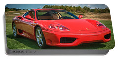2001 Ferrari 360 Modena Portable Battery Charger by Sebastian Musial