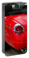 2002 Red Ford Thunderbird-rear Left Portable Battery Charger by Eti Reid